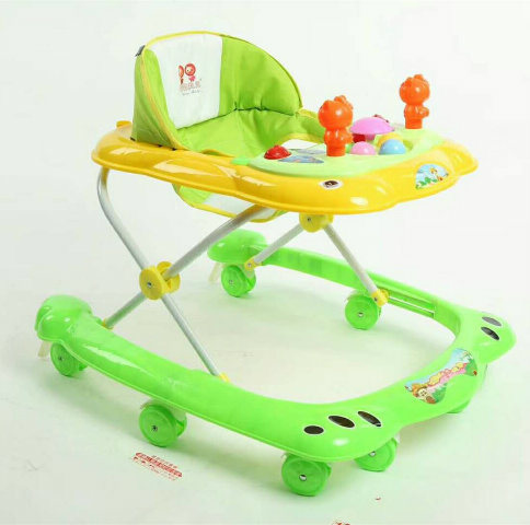 2018 New Model Simple Baby Walker With Toys China Baby Walker
