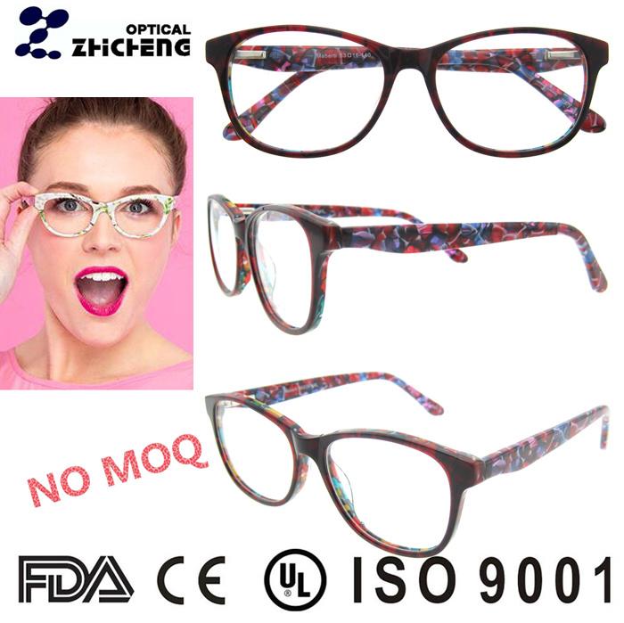 Diseño de Moda Gafas de acetato italiano Marco para la Mujer ...