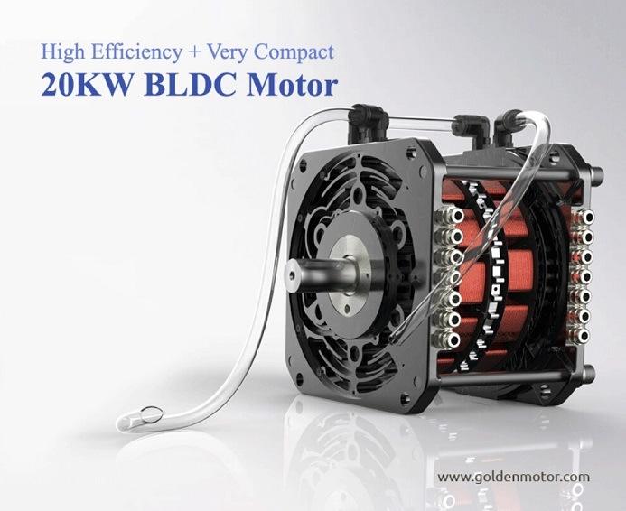 Motor de alta efici ncia ev 20kw kit de convers o de um for High efficiency dc motor