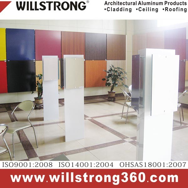 Willstrong Aluminium Honeycomb Panel Facade Architectural Facades Panels Canopy Ceiling Signage Ventilated Facades
