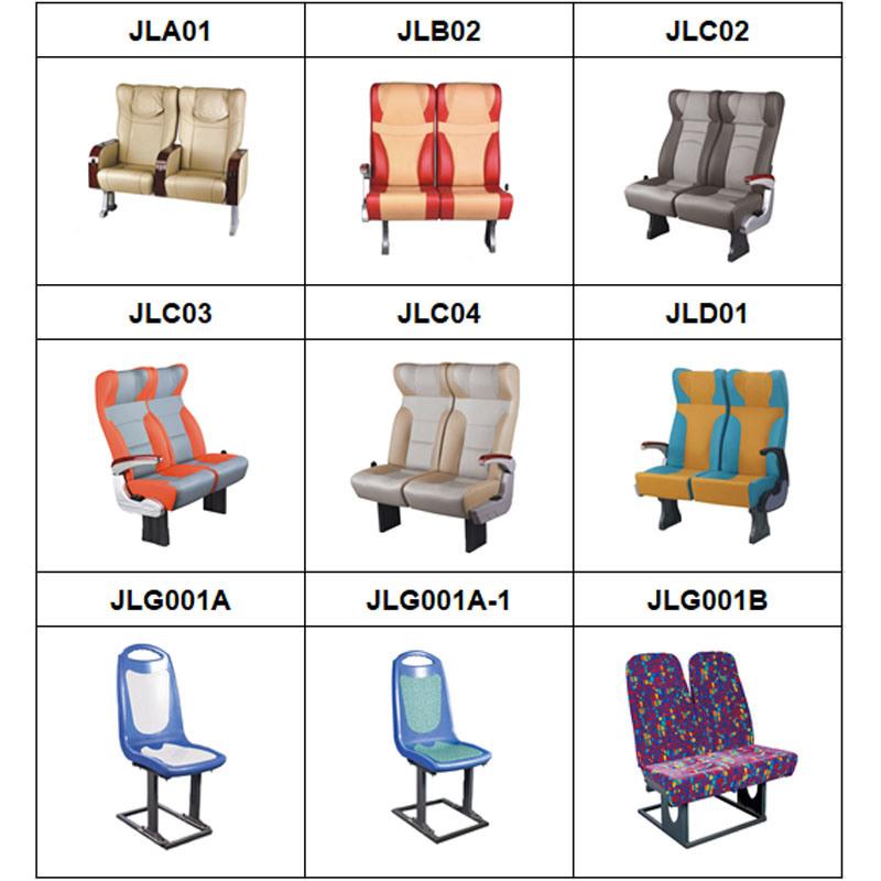 High Grade 3c Standard Double Medium Comfortable Bus Seat