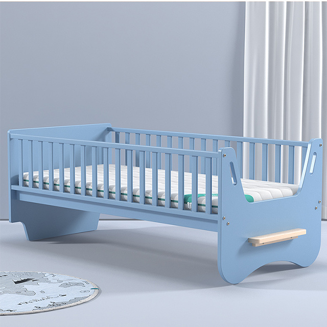 China Baby Crib Wooden Bed