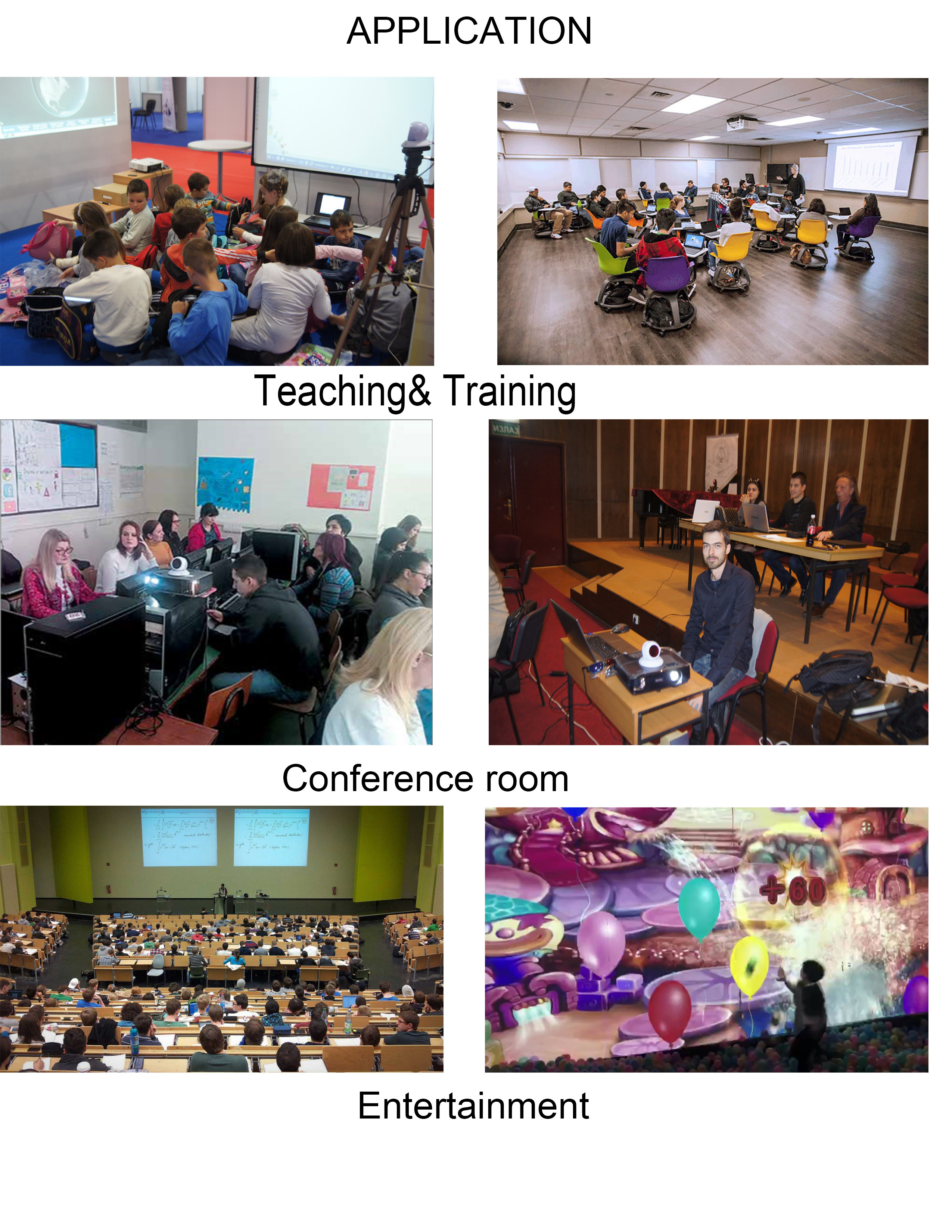 Education Digital Interactive Whiteboard Multi Touch Smart Board for Classroom