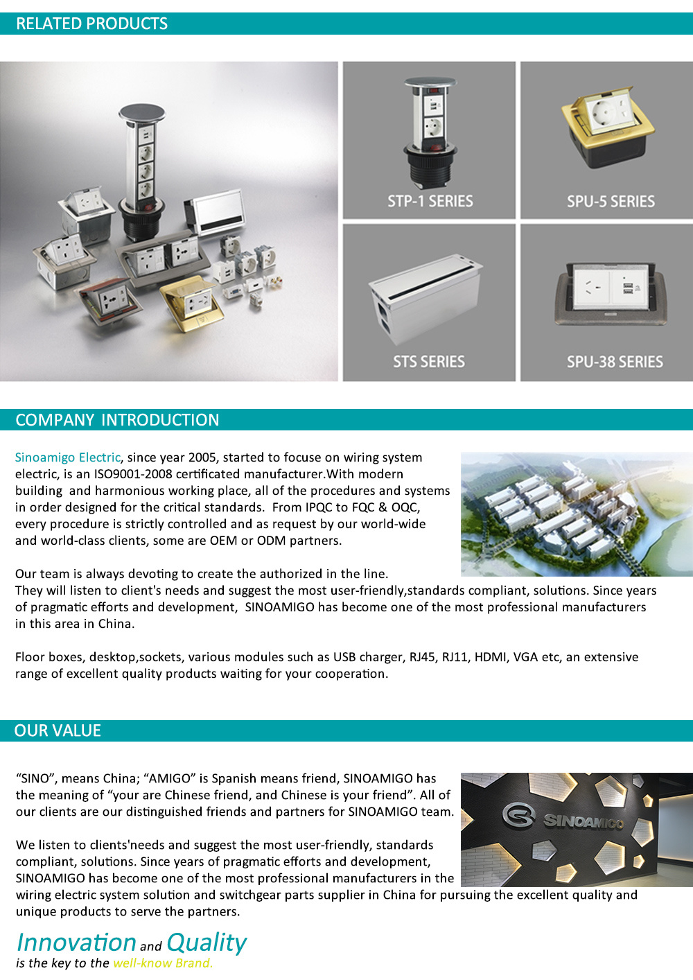 Stainless Steel High Capacity Floor Box China Electrical Wiring In Desk On Or Under Various Models To Meet Your Different Project Conditions Sinoamigo Provides Comprehensive Solutions For Modern