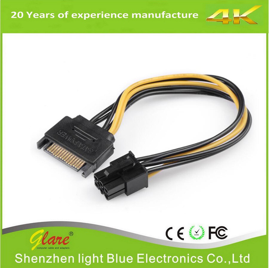 22 Pin Sata Data Cable 7 15pin Power China 15p Signal And Molex Adapter One Combo To Connect Lp4 Measures 13ft Providing The Flexibility Required Position Hard Drive As Needed Within Computer Case