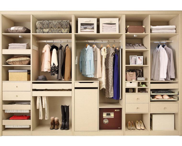 Moda oppein madera melamina un armario yg61447 moda for Closet de madera para zapatos