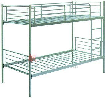 China de hierro Muebles de Dormitorio litera doble bastidor con ...
