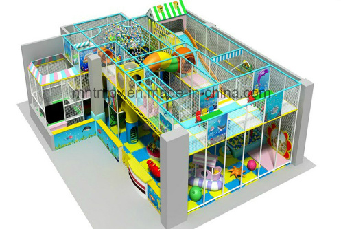 Indoor Playground Children Castle For Kids Play H13 7028 China
