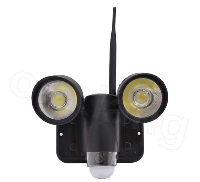 Waterproof 50 mp motion night vision wifi pir sensor security light simple introduction 150m motion detect camera aloadofball Images