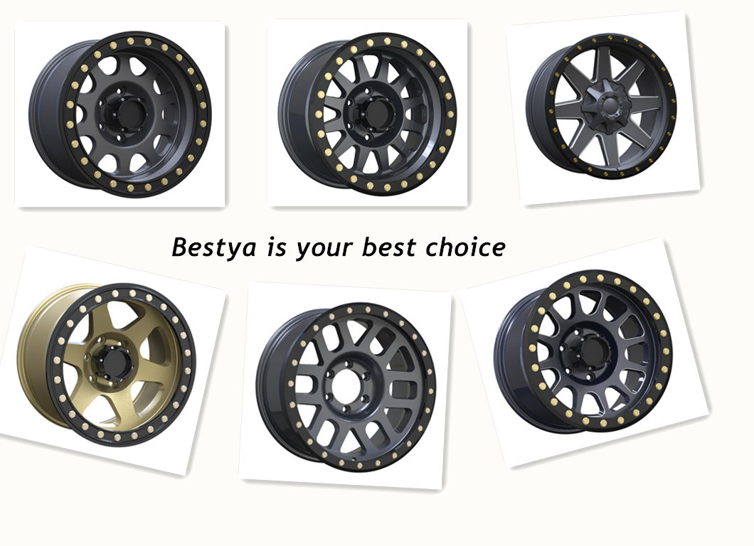 BBS,Trd,Method,Vosse Aftermarket SUV 4X4 Offroad Beadlock Racing Passenger Car Replica Aluminum Alloy Wheel for Toyota ,Jeep,Ford,Nissan,Honda,Benz,BMW,Audi,VW,