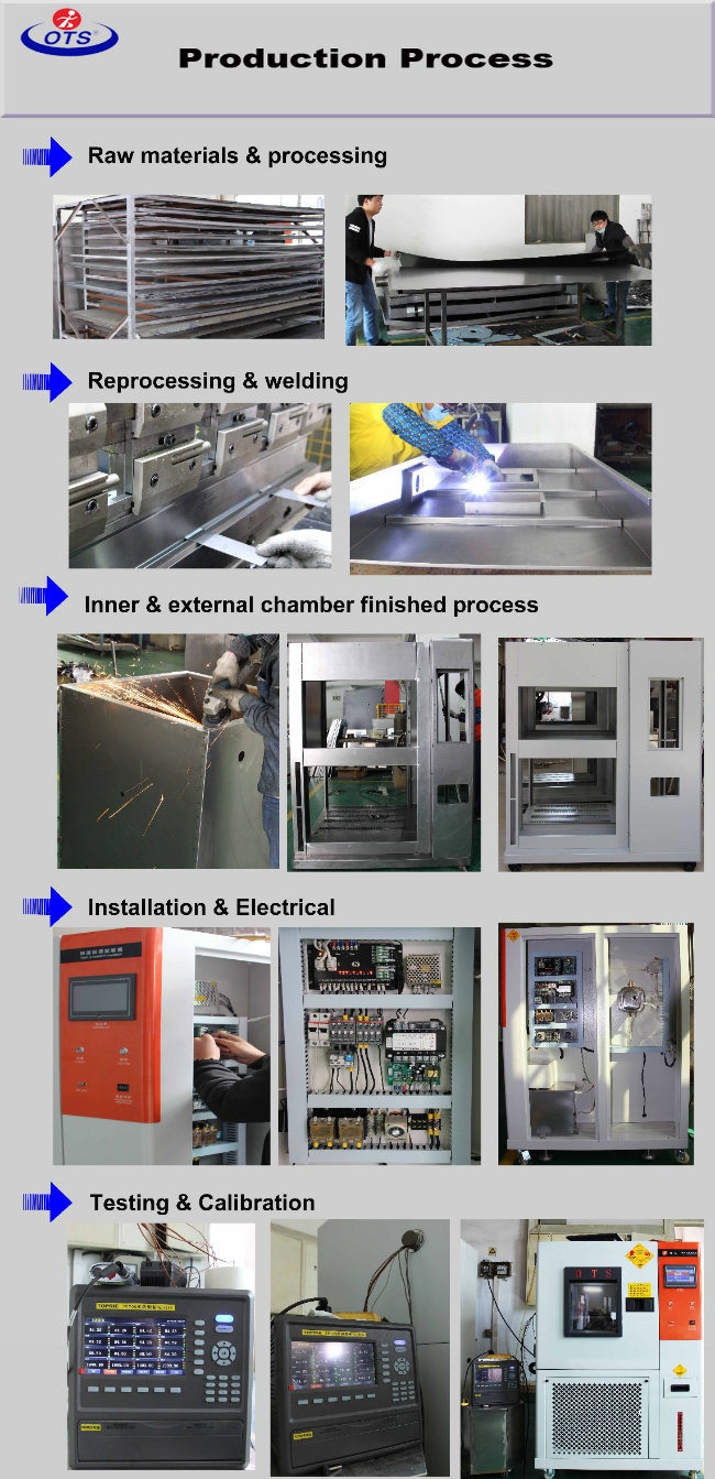 Electronic Climate Thermal Impact High Low Temperature Shock Test Chamber