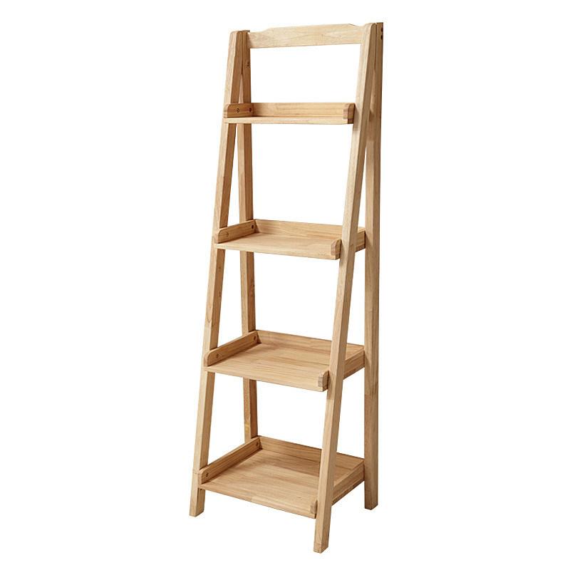 Multi Purpose Solid Wood Shelf, Wood Storage Racks