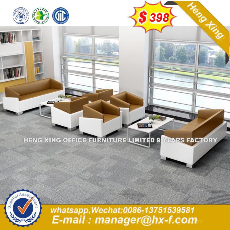 Sofá de piel de combinación modernos conjuntos de muebles de oficina ...