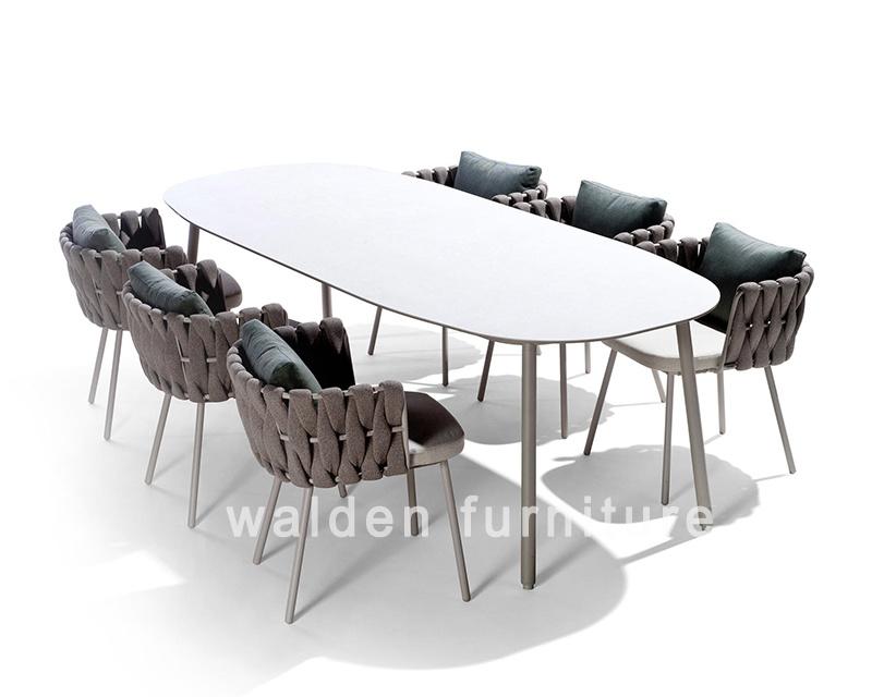 Walden 2018 Nueva Colección Jardín al aire libre juego de comedor ...