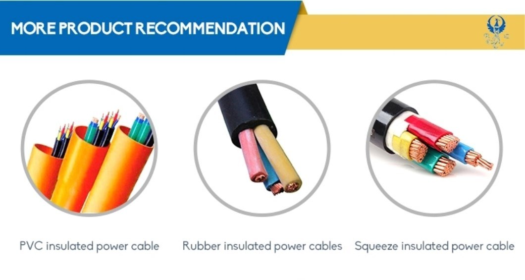 LV Copper/Aluminum Flexble Electrical Wire XLPE/PVC/PE Single or Multi Core Armoured Electric Control Power Cable Use for Power Supply System