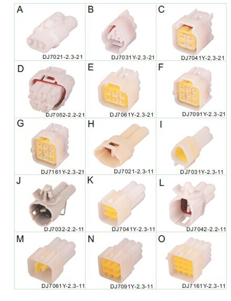 Auto Wire Harness Sensor Bosch Connector 1928403874 China 2 Pin 15366067 211pl209s2055 927771 3