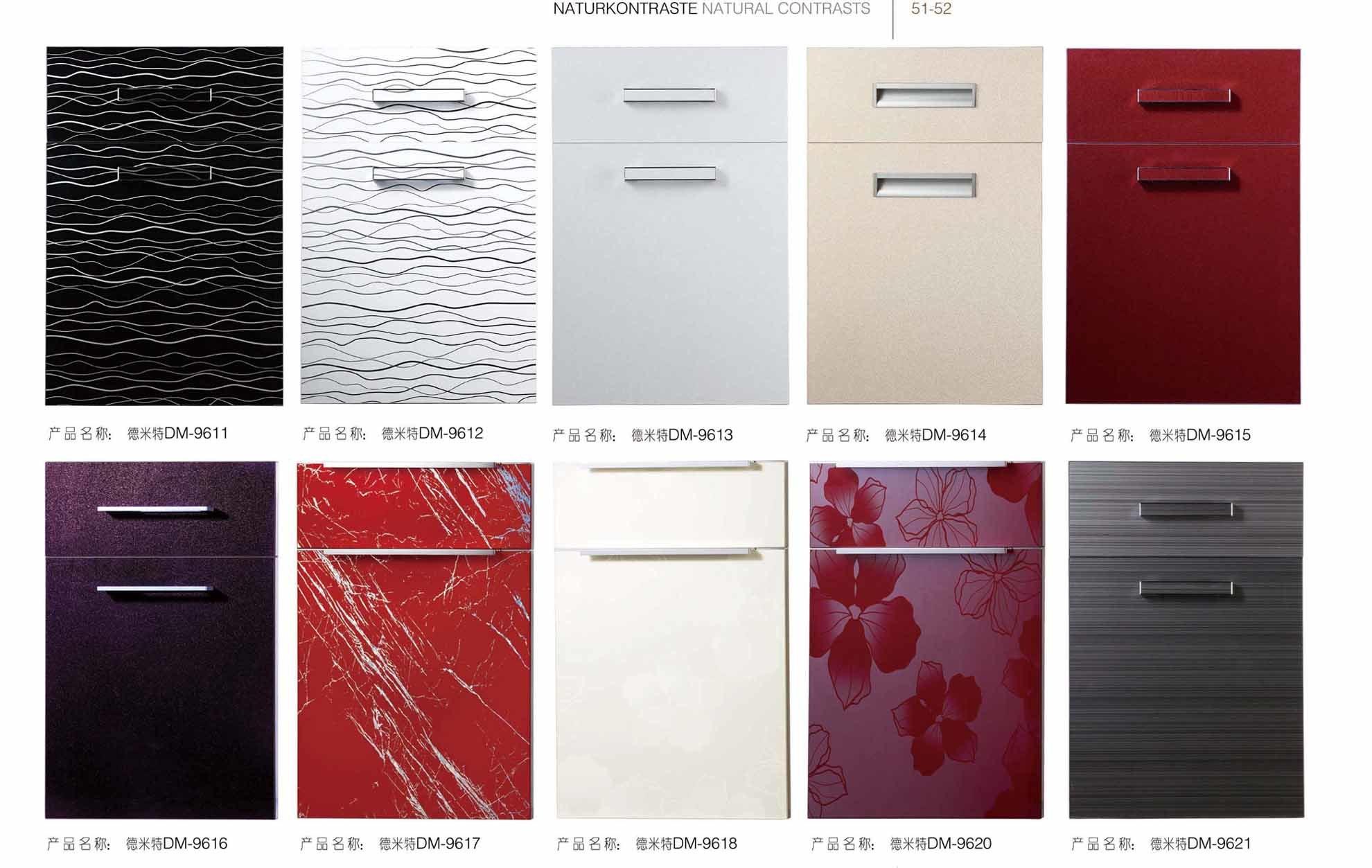 Modern Glossy Acrylic Kitchen Cabinet