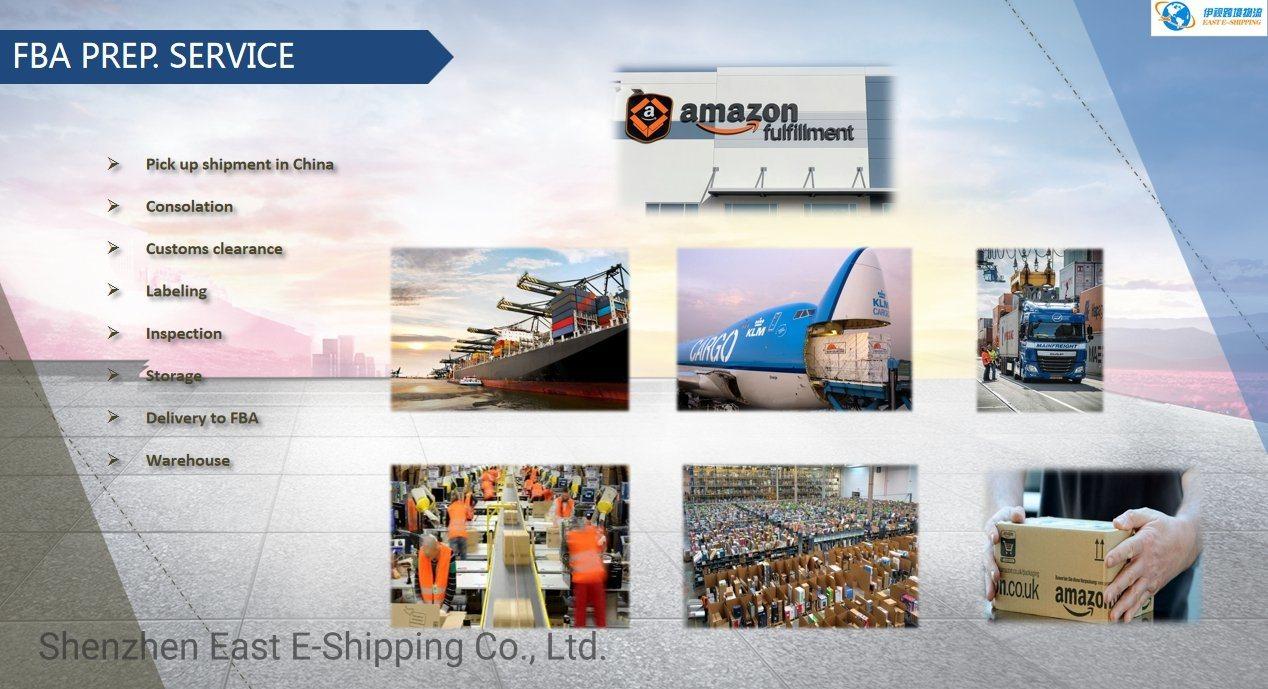 Logistics Service From China to Fba Amazon Warehouse (USA/England/Germany/Spain/Italy)