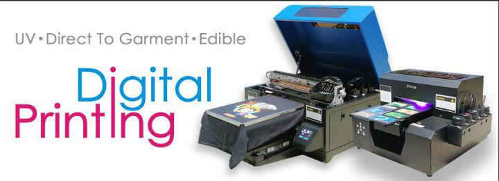 Tamaño A3 a la moda de la máquina de impresión digital Impresora DTG ...