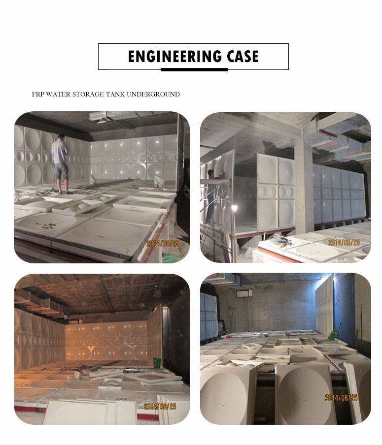 Fiberglass SMC Rectangular Square Water Storage Tank - China
