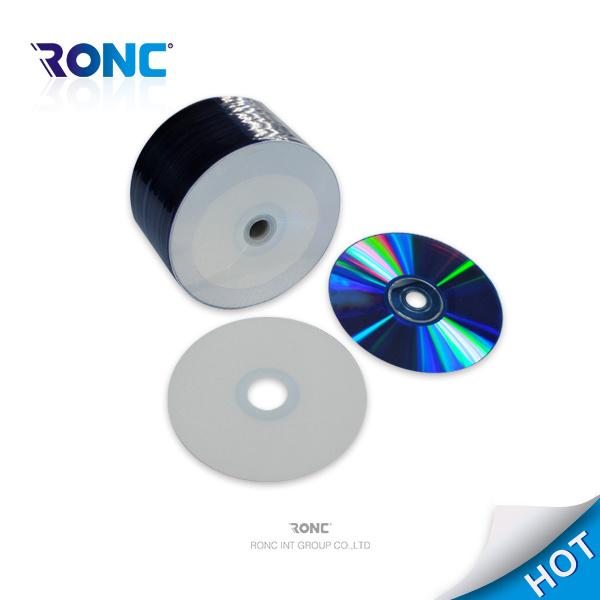 White Inkjet Printable Blank DVD-R