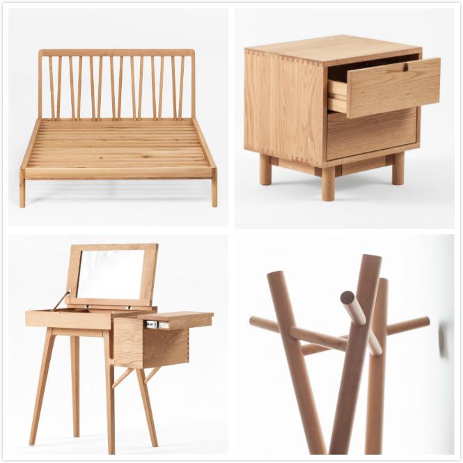 Mobilia di legno moderna americana del salone della camera
