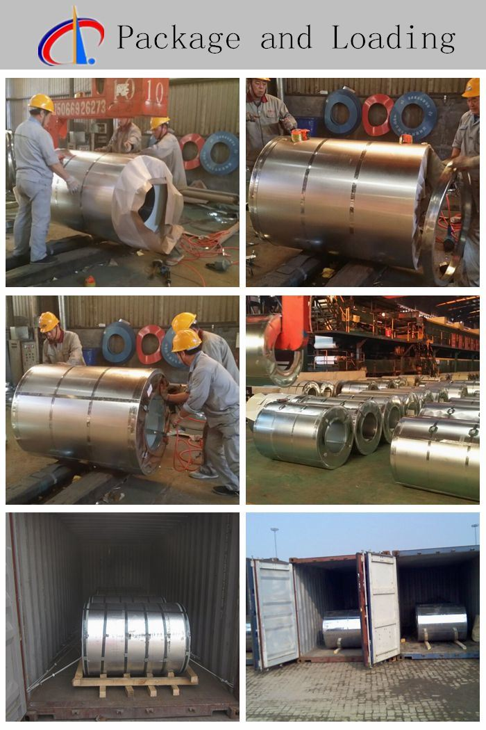 Cold Rolled Gi Metal Hot DIP Galvanized Steel Coil