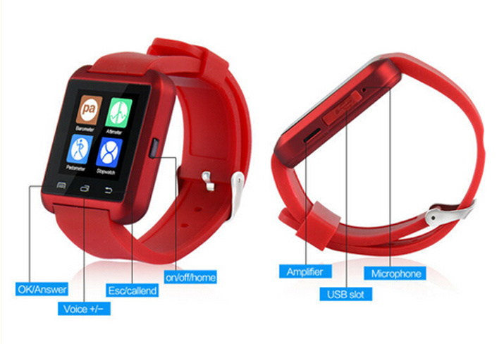 Smart Watch Multi-Functions Touch Screen Smart Bluetooth Watch U8