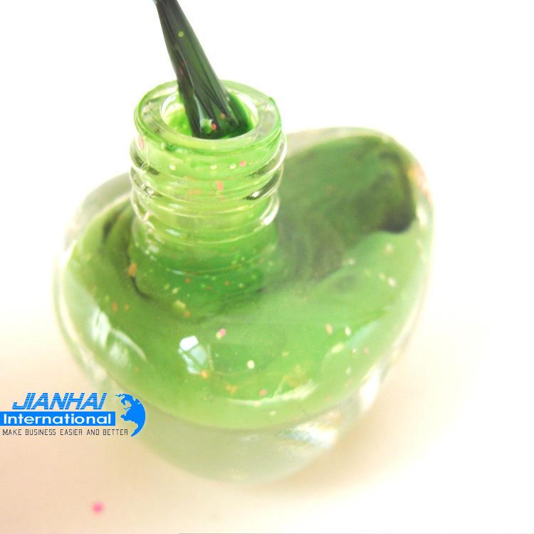 Forma de pato de esmalte de uñas Botella de vidrio colorido – Forma ...