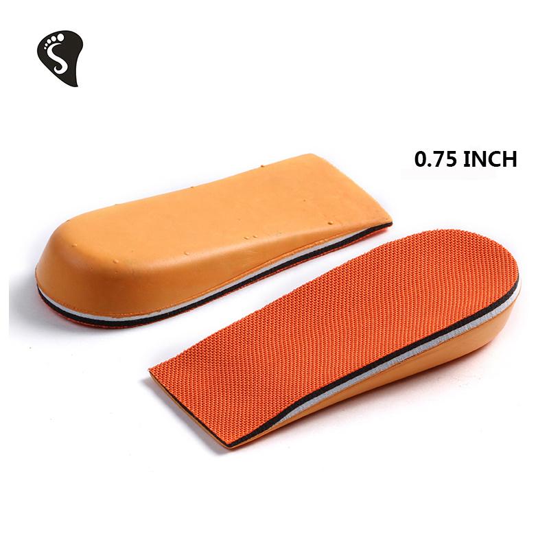 EVA Cushion Pad Heel Insert Increase Taller Height Lift Men Women Shoes Insoles