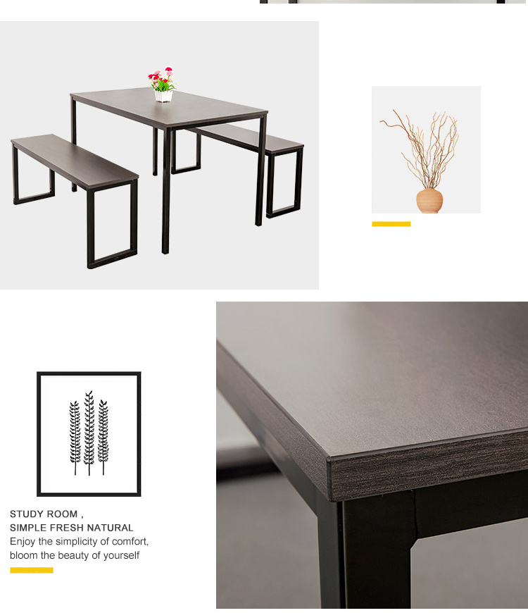 Modern Studio Collection Soho Dining, Studio Collection 3 Piece Furniture Set