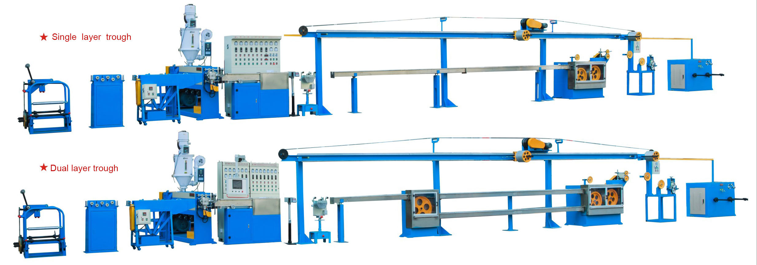 Extruder Machine for Making Domestic Wire and Cable