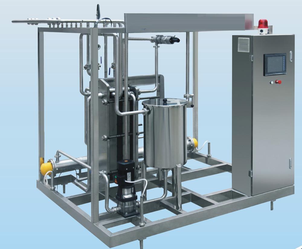 Industrial Plate Milk Pasteurizer Yogurt Pasteurizer Juice ...