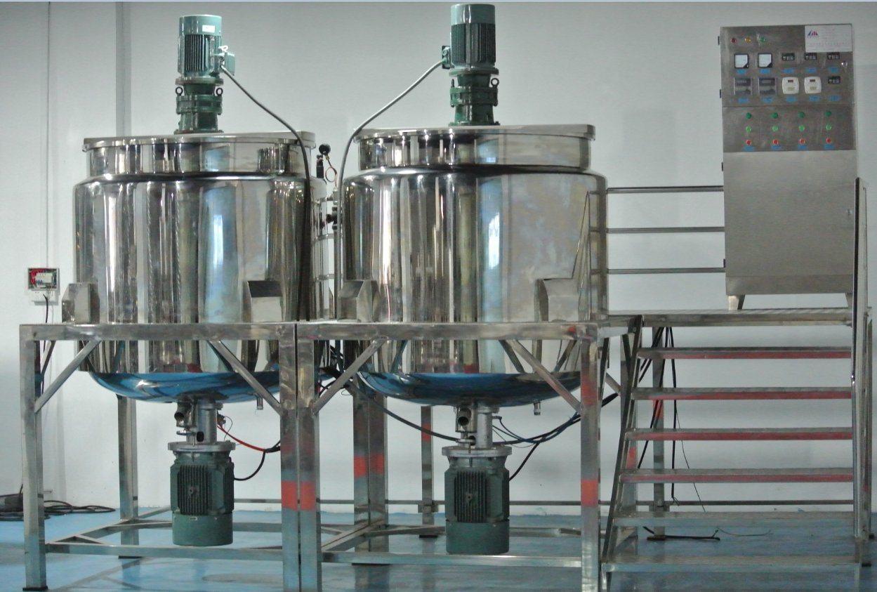 Liquid Storage Emulsifying Drum Disperser Homogenizer Tank ...