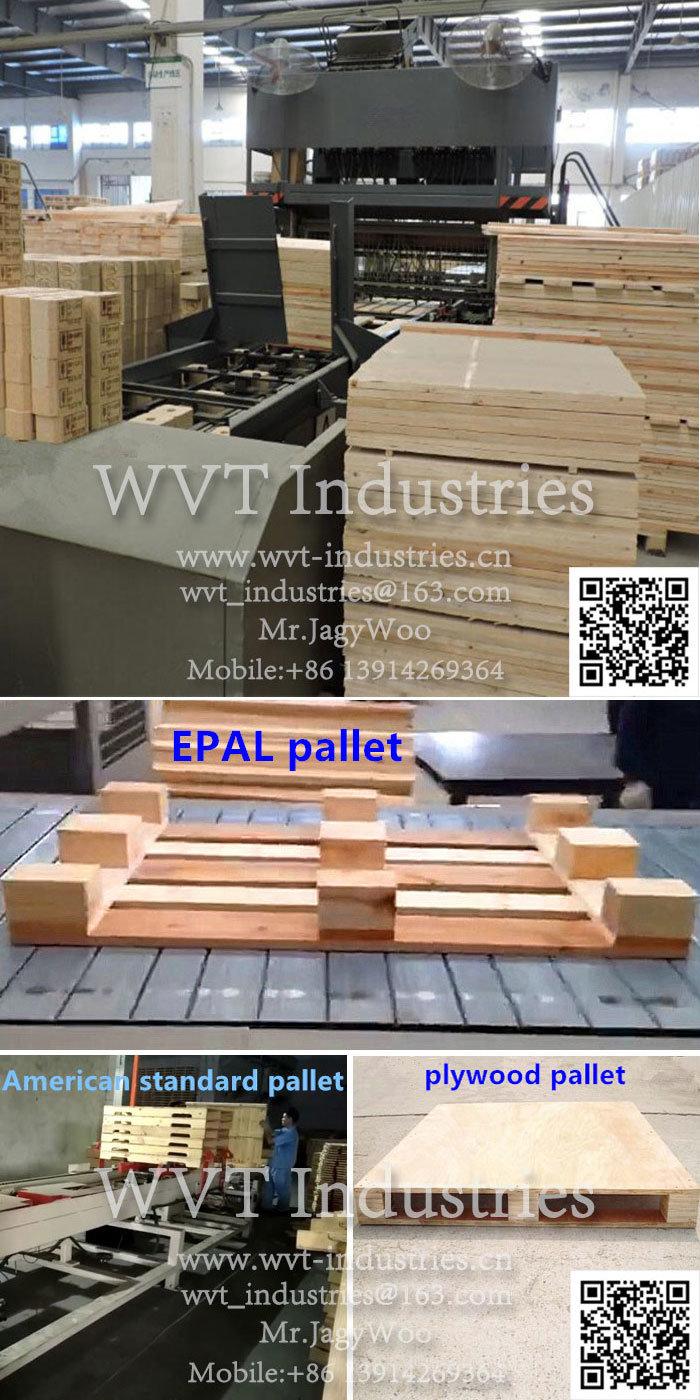 Caja de seguridad automática de palets de madera de hidráulica de la ...