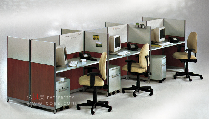 Bureau de caissier adapté aux besoins du client de vente au détail