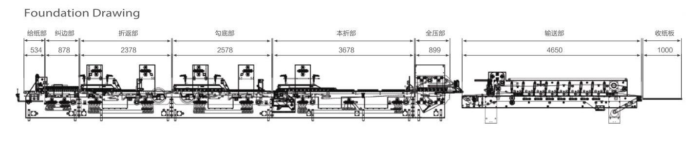 Full Automatic Intelligent Speedwave Folder Gluer (XL-650)