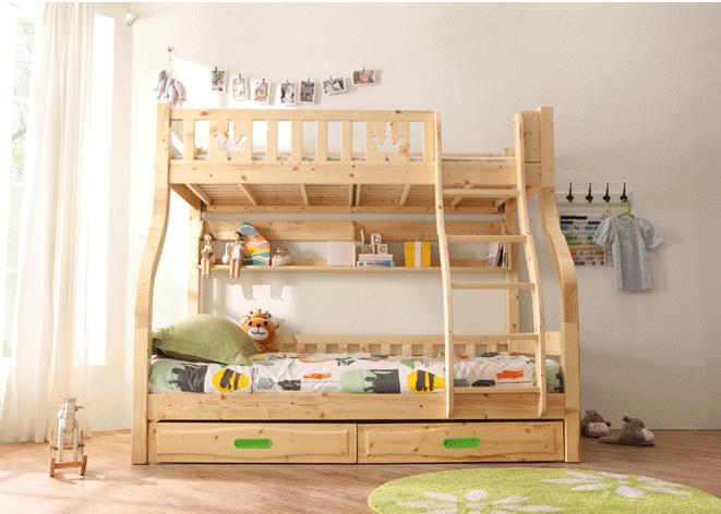 Base moderna di memoria unita mobilia di legno dei capretti della camera da  letto del bambino