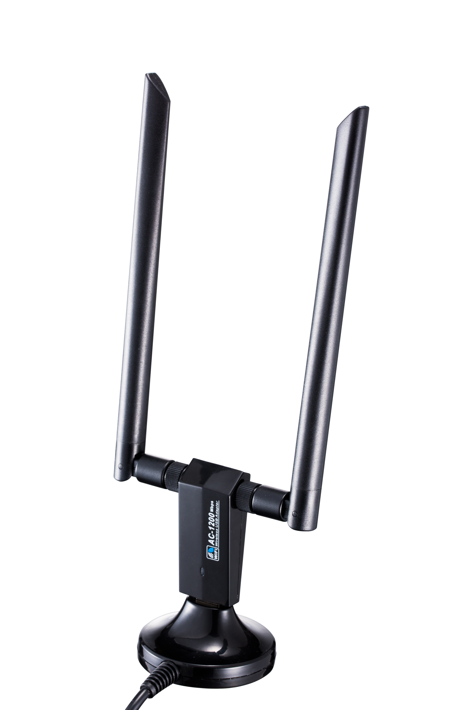 1200Mbps Realtek Rtl8812au Dual Band WLAN USB Adapter 2X5dBi Wireless  External Antenna WiFi Module