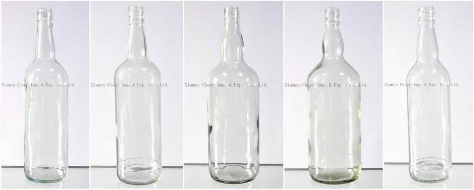 Cheap 200ml Glass Vodka Bottle Lj200-1001