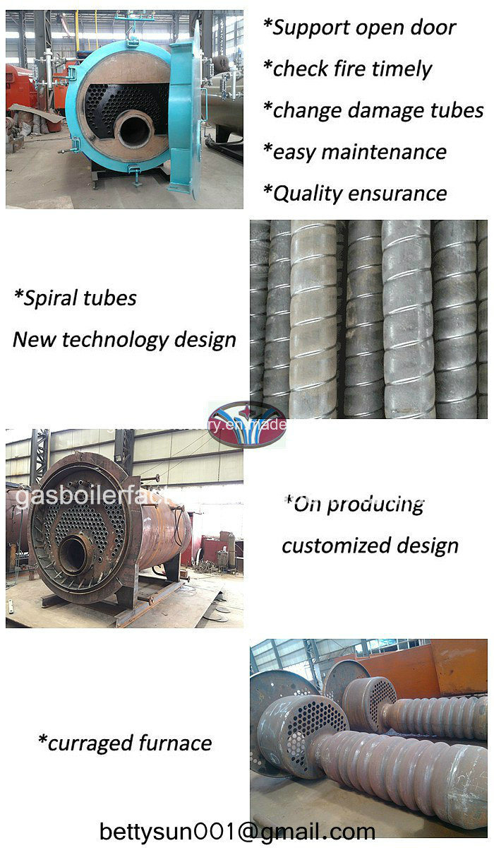 Automatic Steam Boiler, Oil and Gas Fired Boiler - China Gas Fired ...