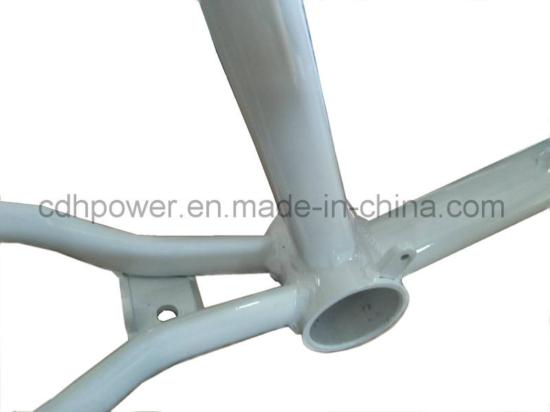 Reinforced White Color Motorized Bicycle Gas Frame 2.4L in Stock ...