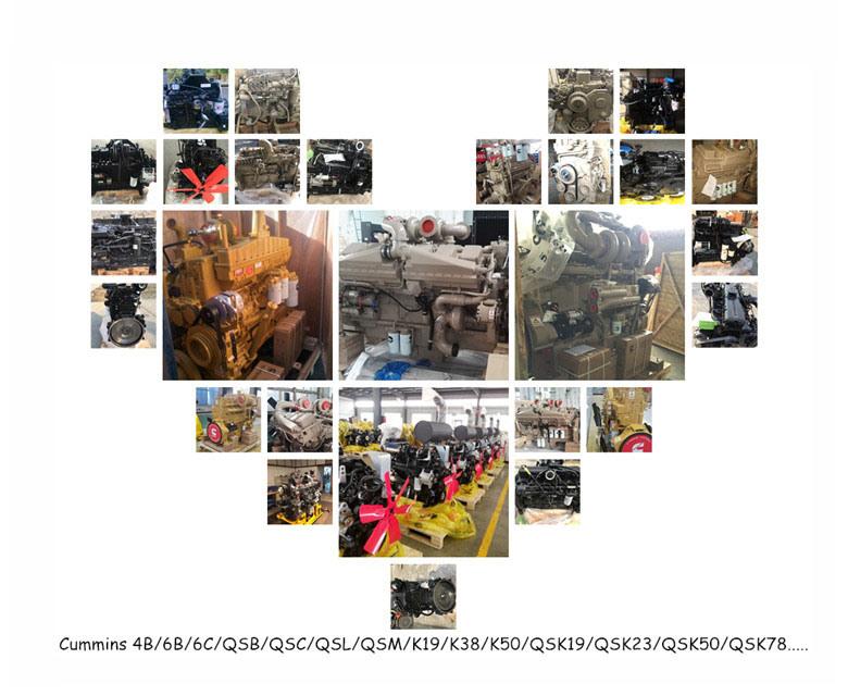 Cummins Qsb6.7 Diesel Engine Motor for Construction Equipment