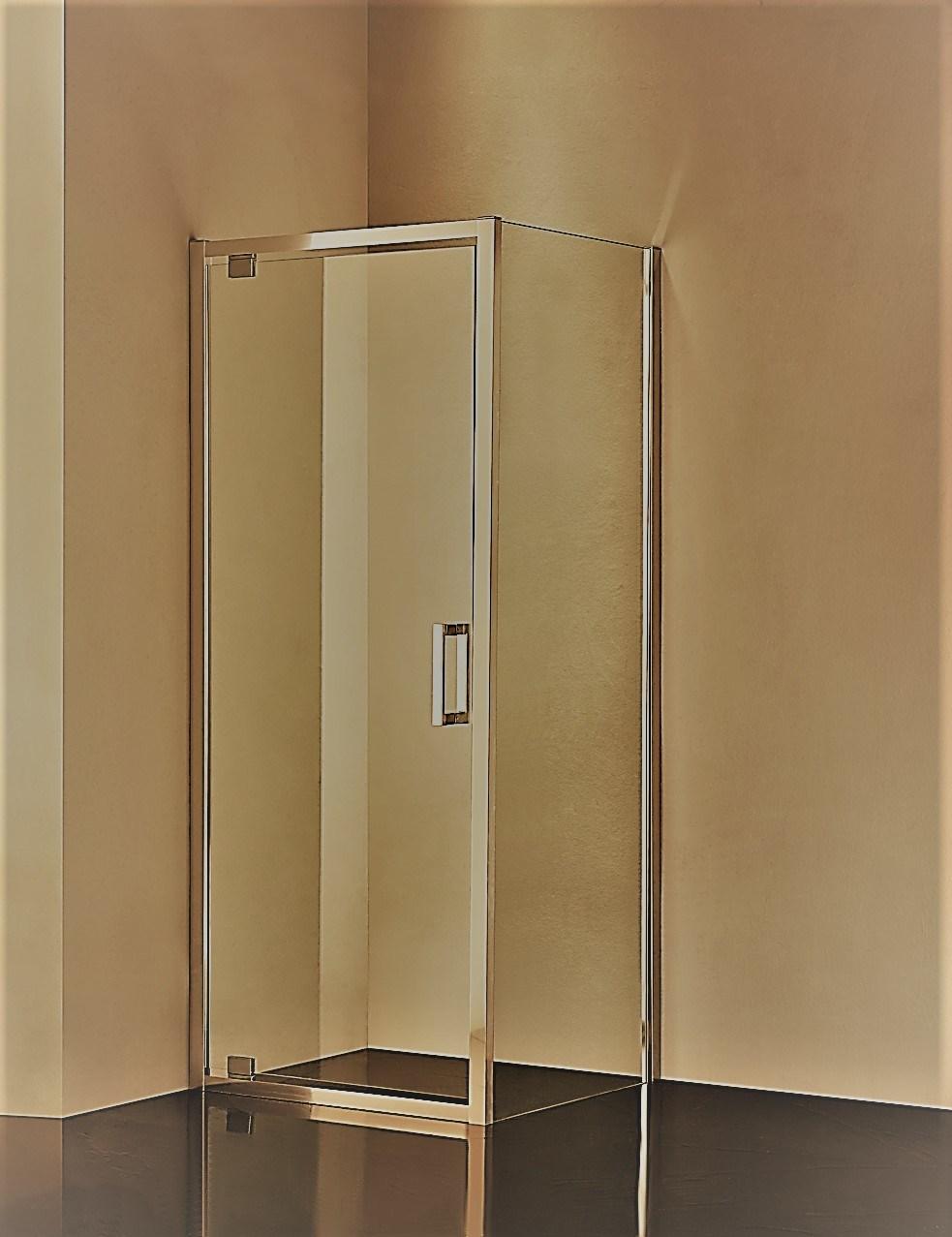 Smart Expo - Hr-09 Framed Pivot Hinge Shower Enclosure | Made-in ...