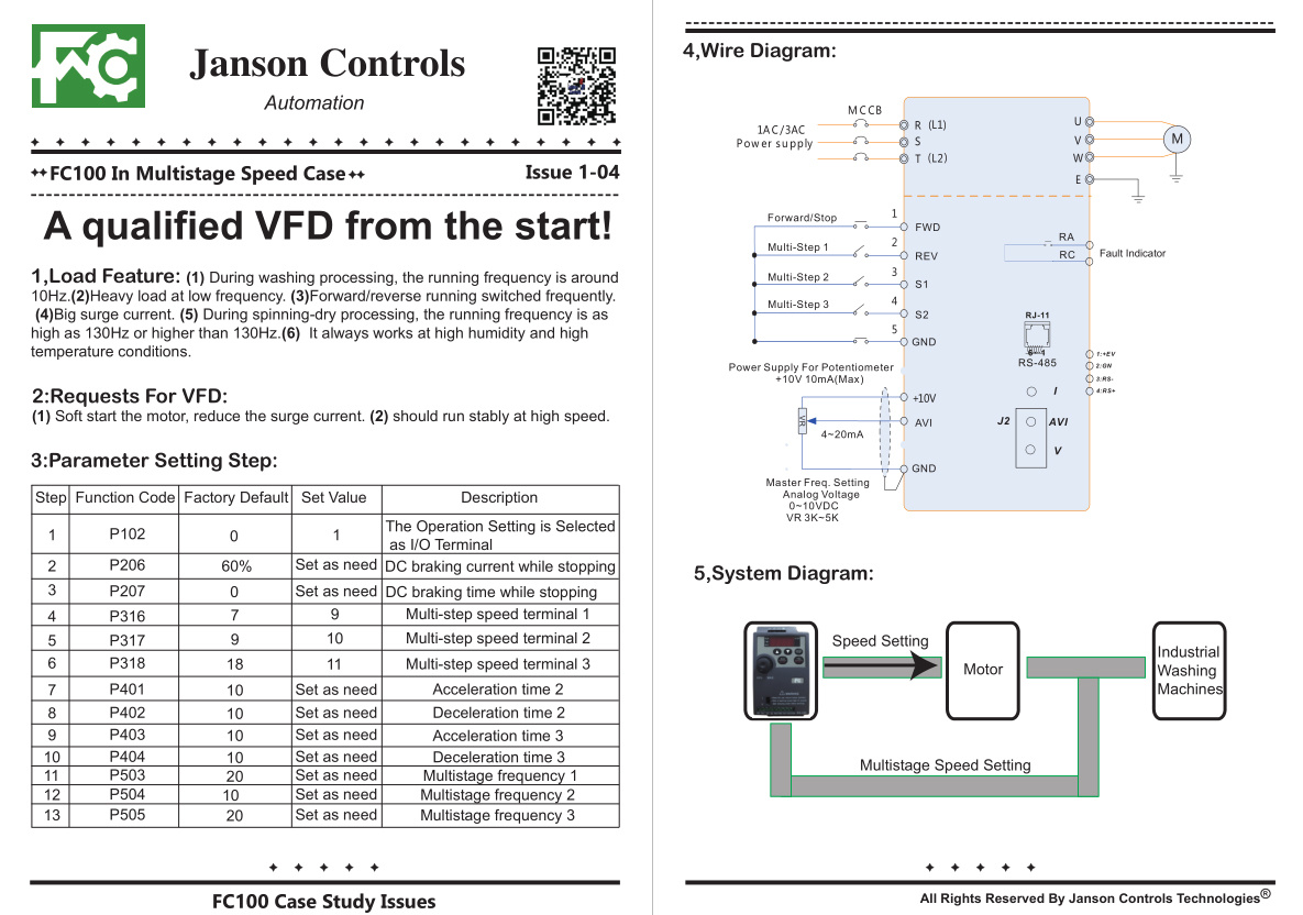 Similar Delta Vfd Ac Motor Speed Controller Variable Frequency Drive Drives Wiring Diagram 18 Fc100 In Multistage Case