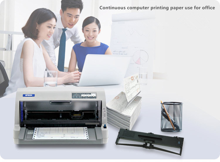 5plys NCR/Carbonless Computer Continuous Printing Paper