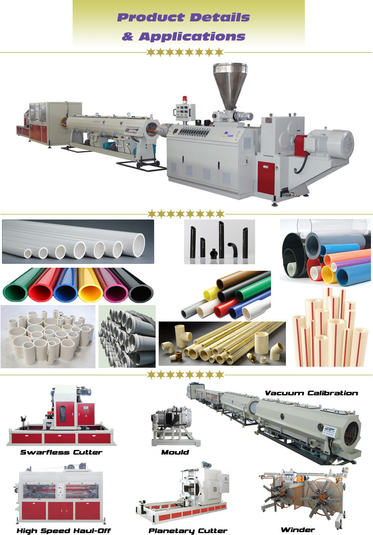 PE PP Wire Laying Plastic Pipe/Tube Extrusion Making Machine - China ...