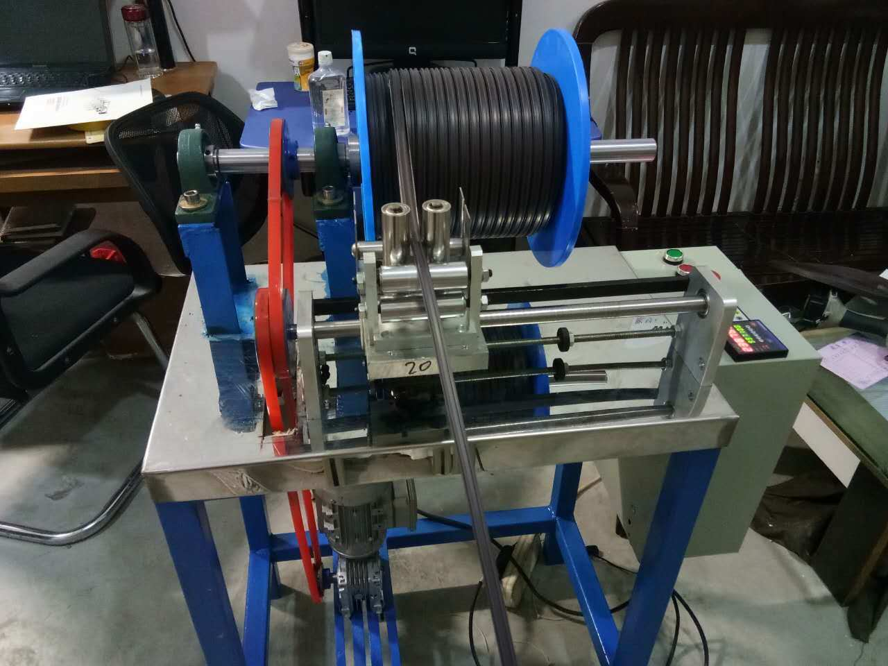 Wire Spool Winder Used Wire Chopping Machinery - China Wire Spool ...