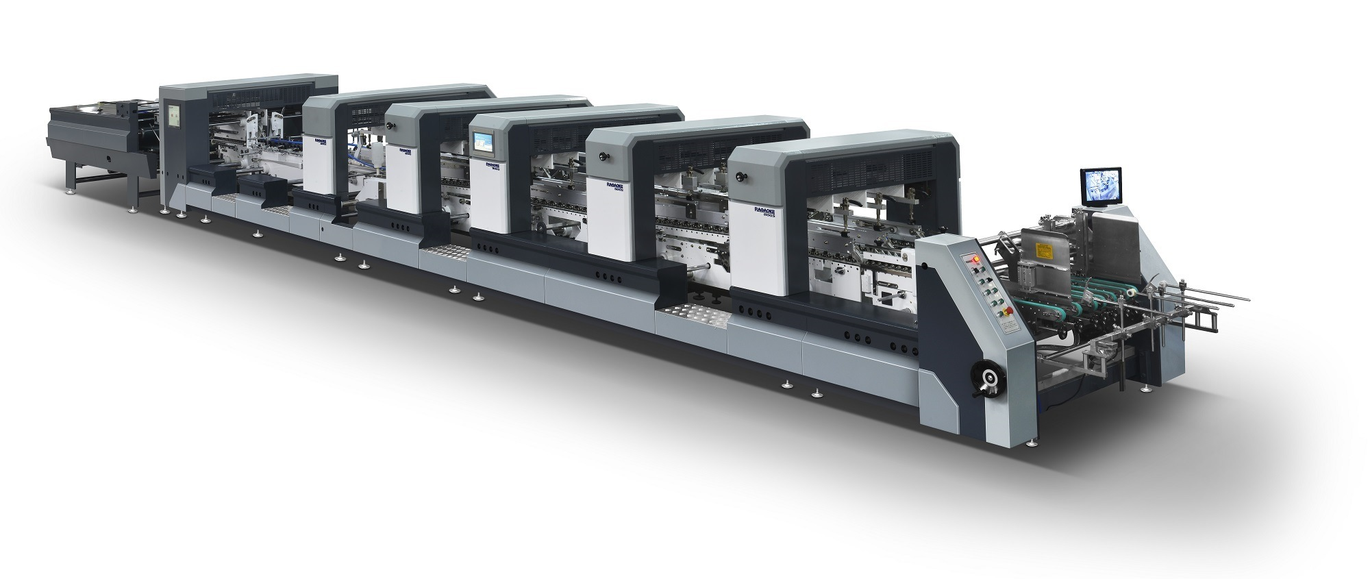 Full Automatic Intelligent Speedwave Folder Gluer (XL-650)