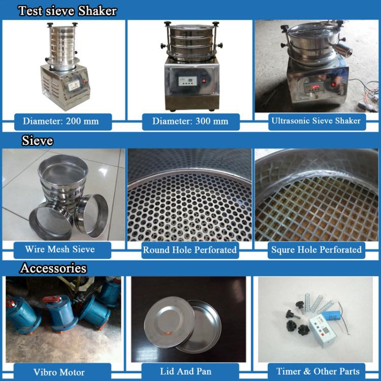 Wire Mesh Standard Lab Sieve Shaker Machine - China Lab Sieve Shaker ...